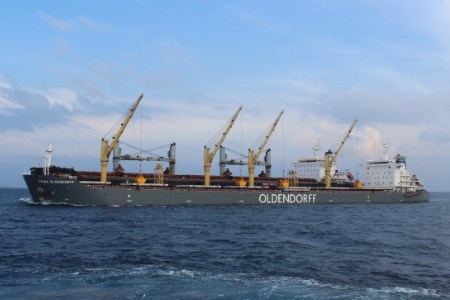 Oldendorff delivers cargo to BCPCL in Bangladesh