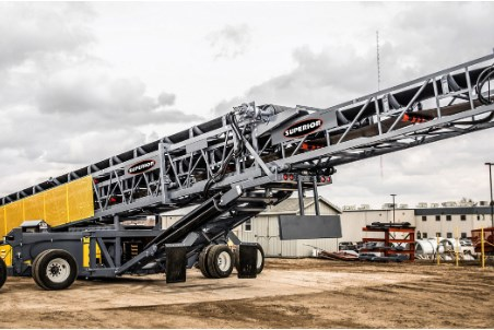 New self-contained option creates more applications for Superior's Telestacker conveyor