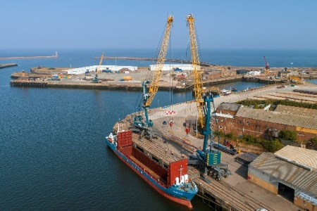 Port of Sunderland sees exports grow as it helps keep Britain moving