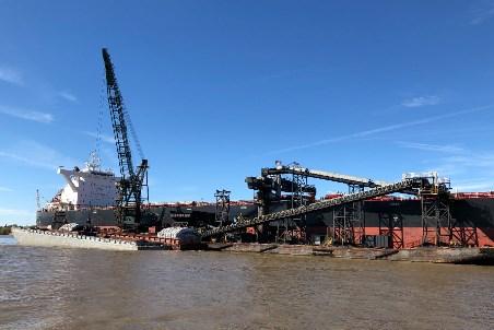 DSI supplies conveyor for floating grain terminal
